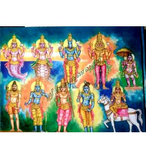 108 Dhivya Desangal's historic story and with arts